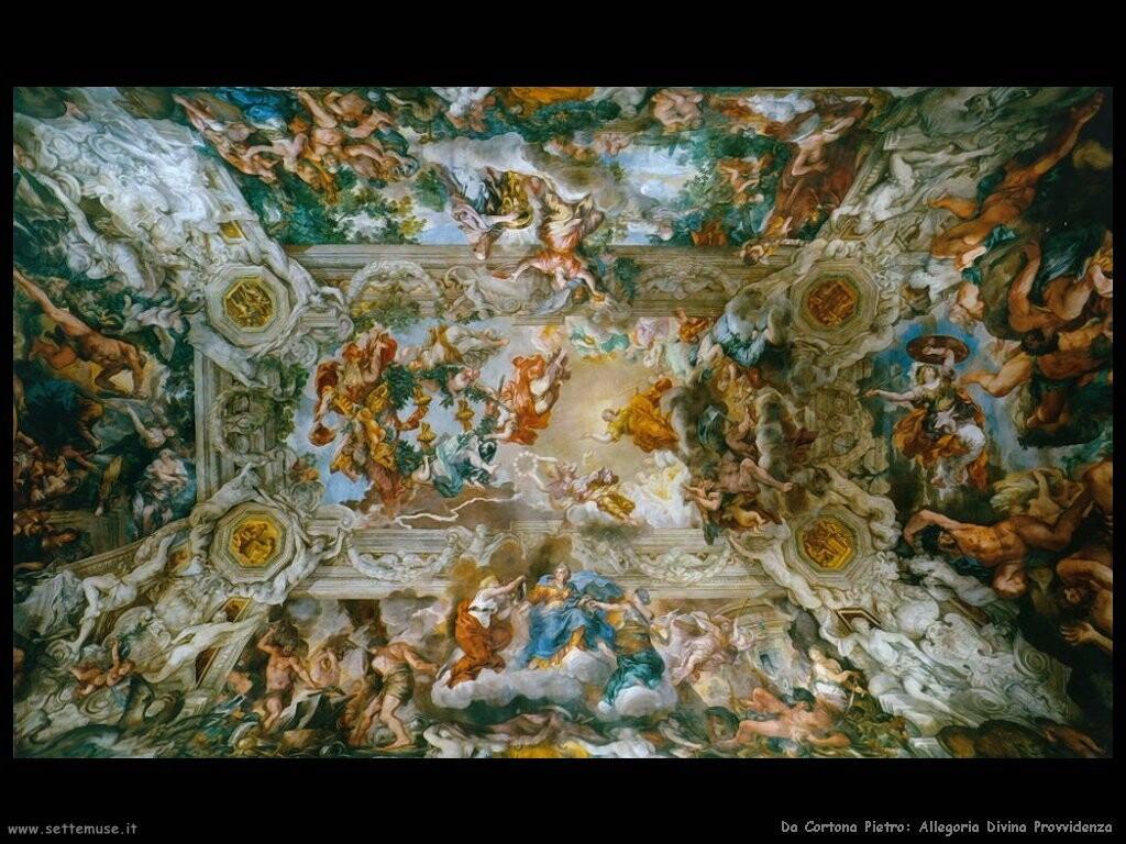 da cortona pietro Allegoria della Divina Provvidenza Palazzo Barberini