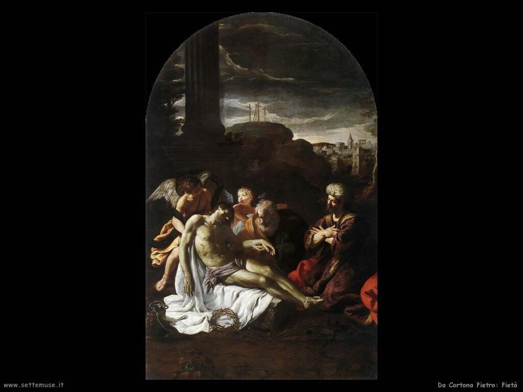 da cortona pietro Pietà