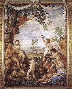 Pittura di Pietro da Cortona