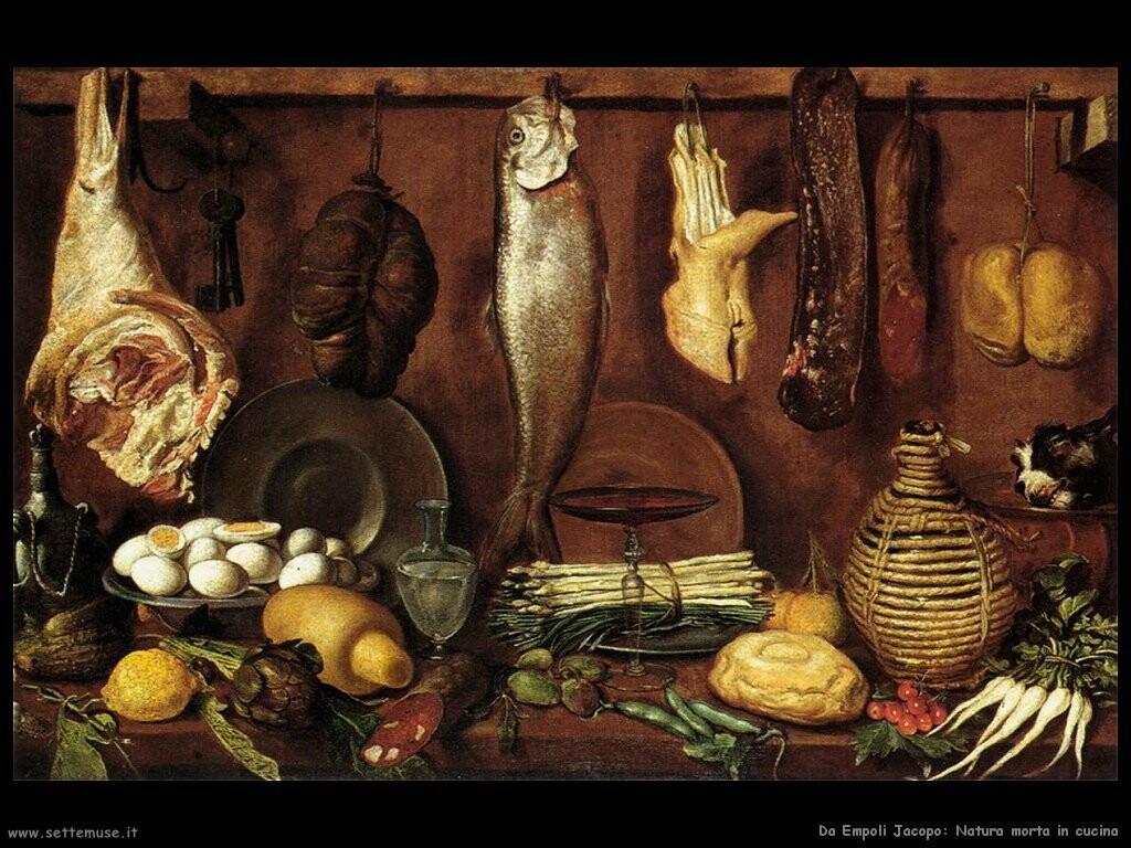 da empoli jacopo Natura morta in cucina
