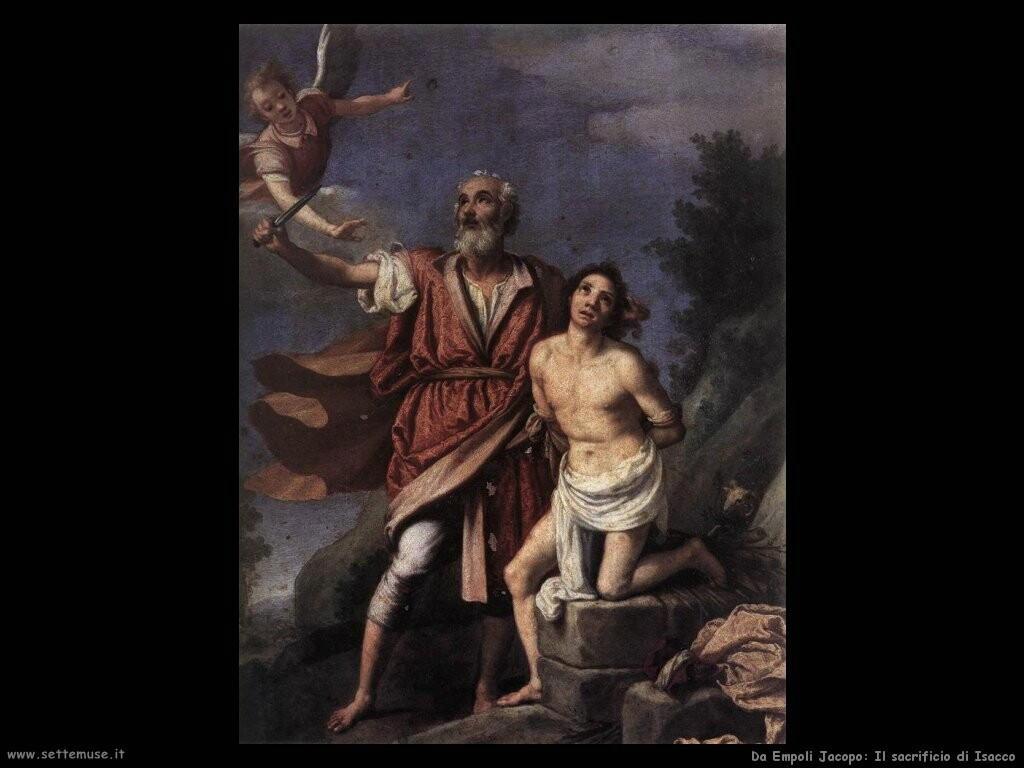 da empoli jacopo Il sacrificio di Isacco