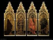 da fabriano gentile  Quattro santi del polittico Quarat