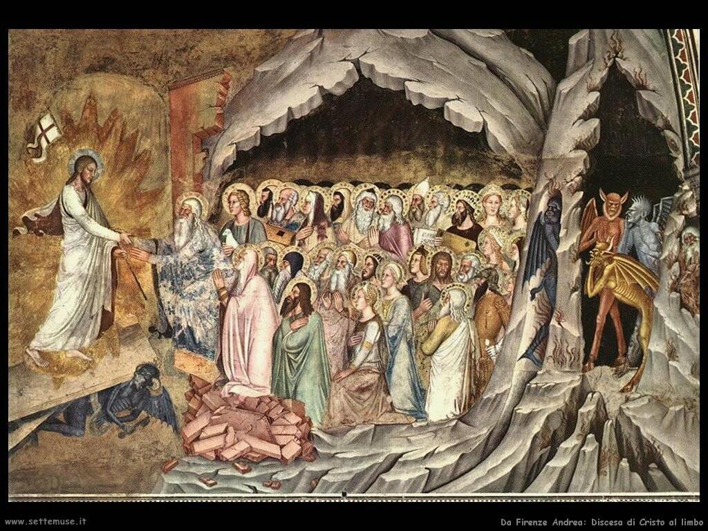 da firenze andrea Discesa di Cristo al Limbo