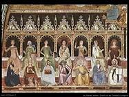 da firenze andrea Trionfo di san Tommaso e allegoria