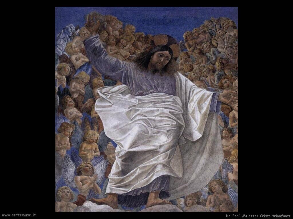 da forli melozzo Cristo trionfante