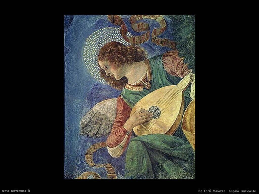 da_forli_melozzo Angelo musicante