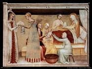 da milano giovanni Nascita della Vergine