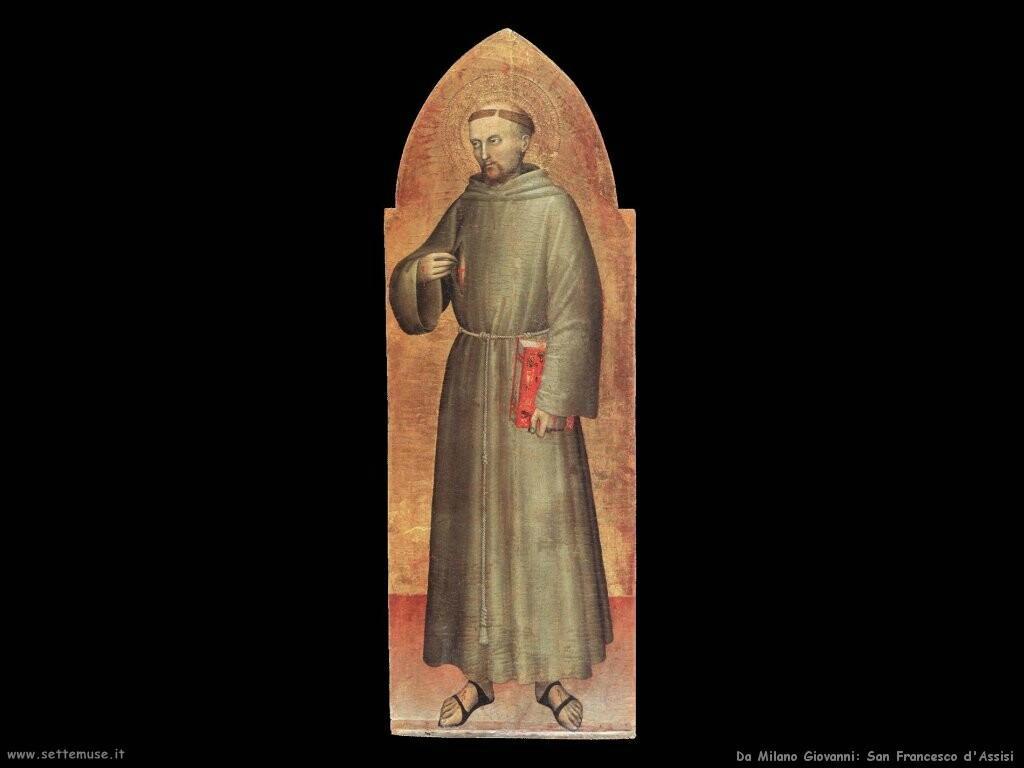 da milano giovanni  San Francesco d'Assisi
