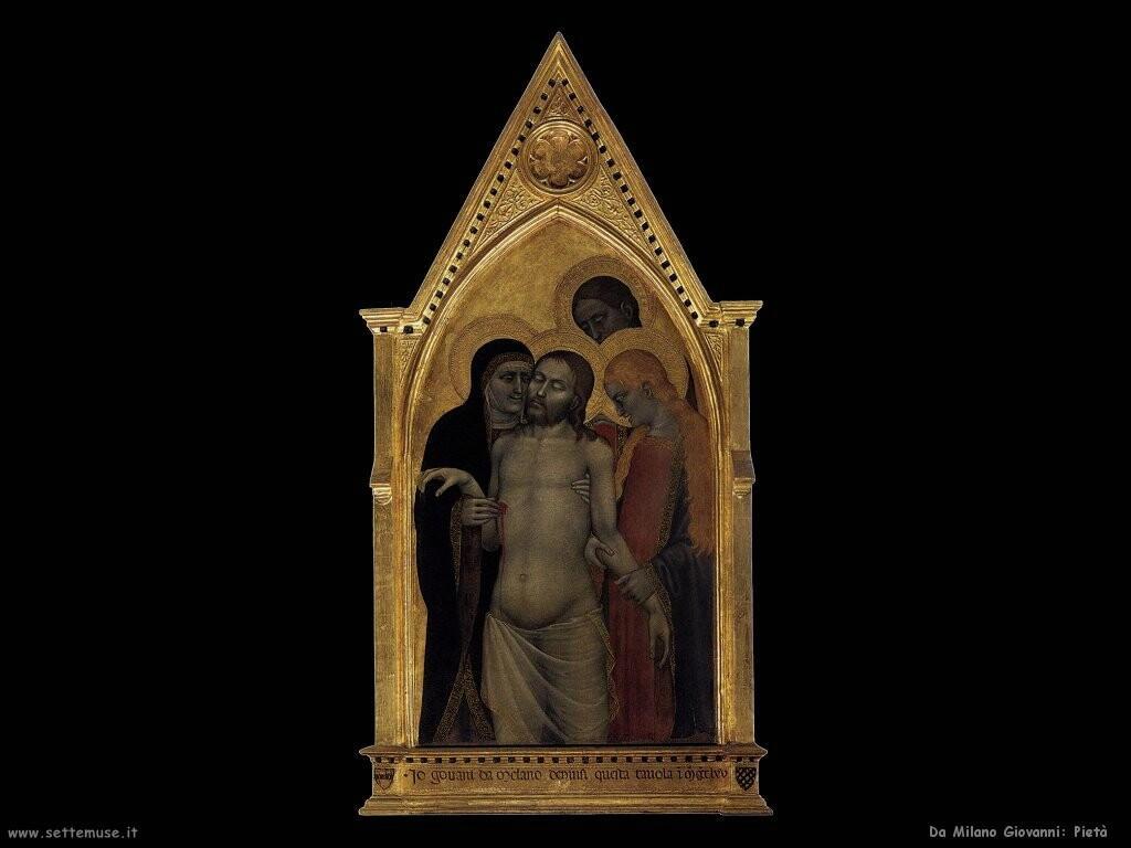 da milano giovanni Pietà