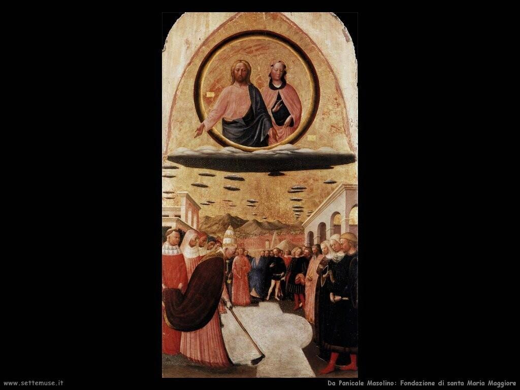 da panicale masolino Fondazione di santa Maria Maggiore