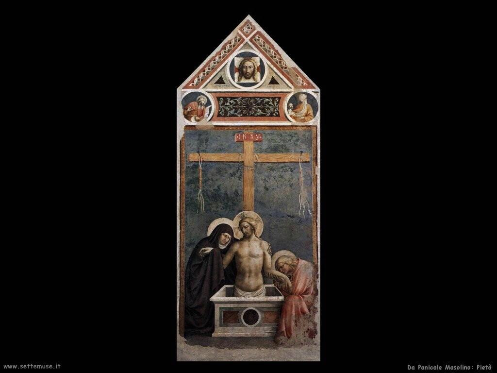 da panicale masolino Pietà