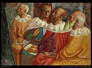 da panicale masolino I filosofi di Alessandria