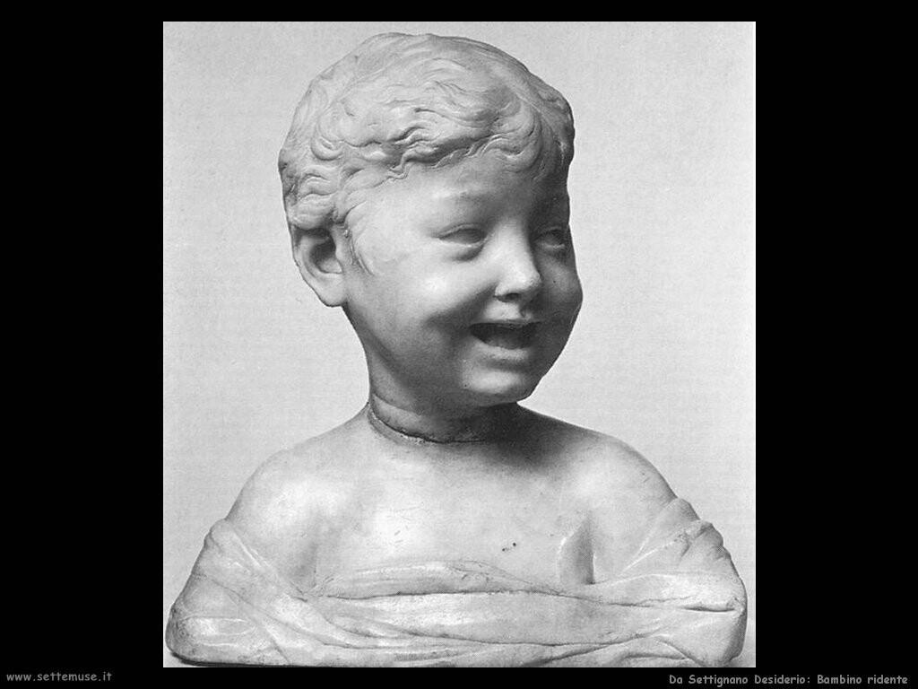 da settignano desiderio Bambino che ride