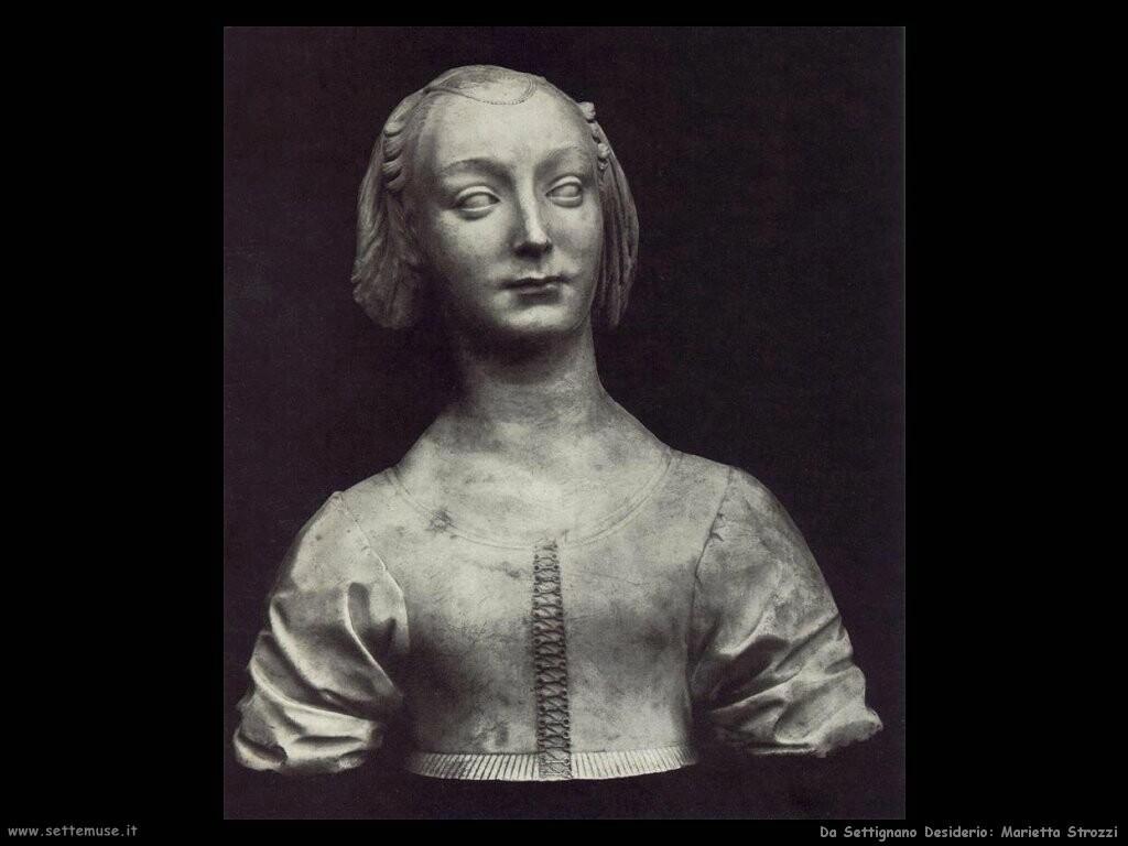 da settignano desiderio Ritratto di Marietta Strozzi