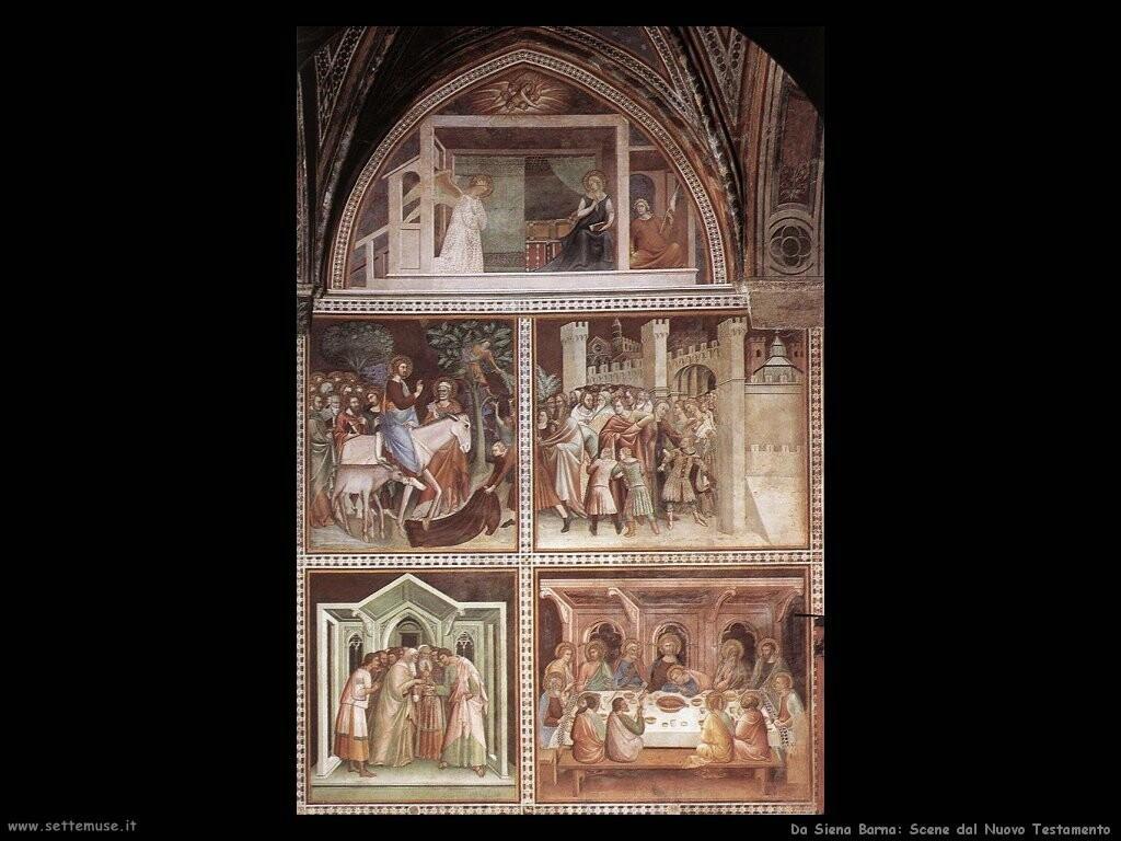 da siena barna Scene dal Nuovo Testamento