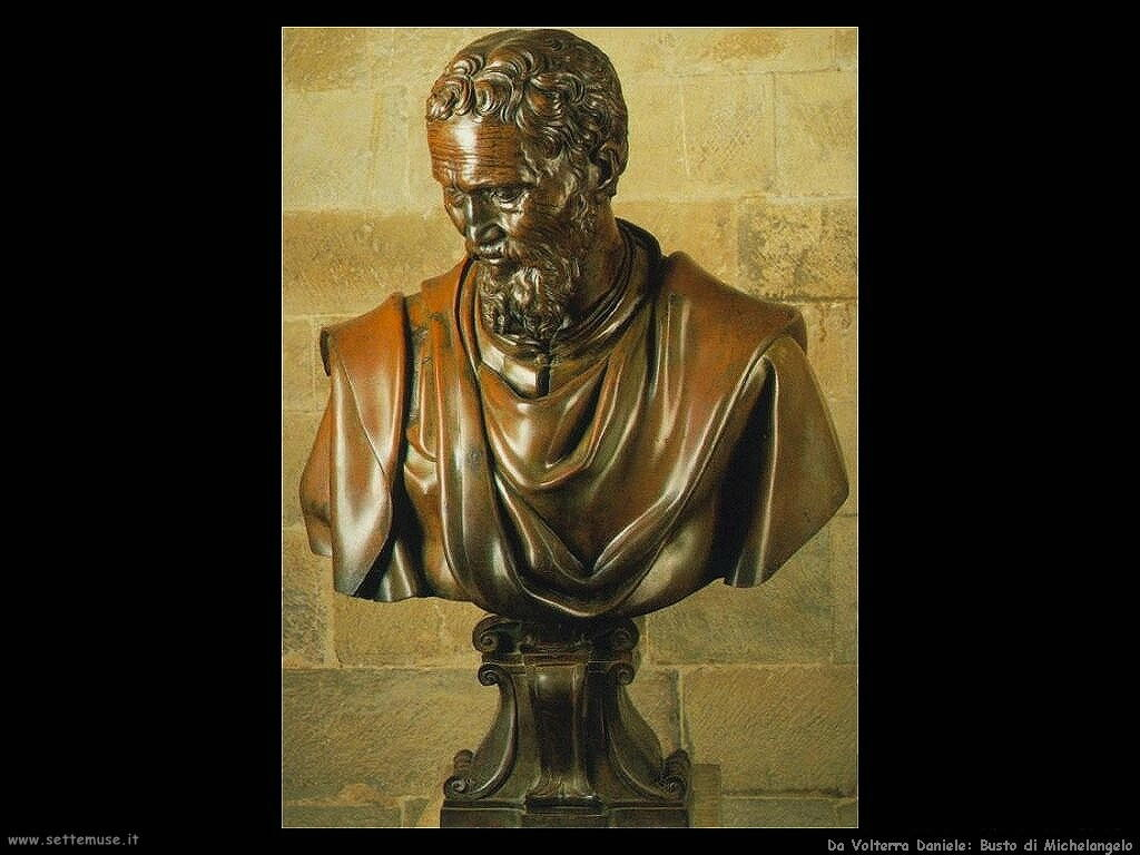 da volterra daniele Busto di Michelangelo