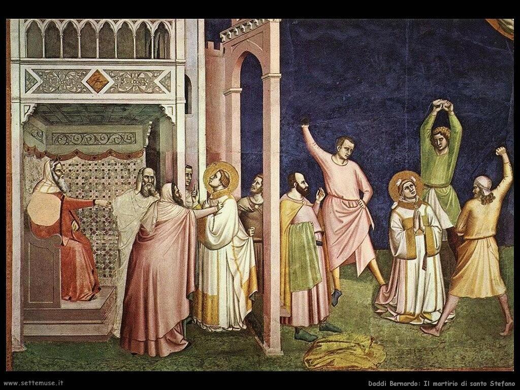 daddi bernardo Il martirio di santo Stefano