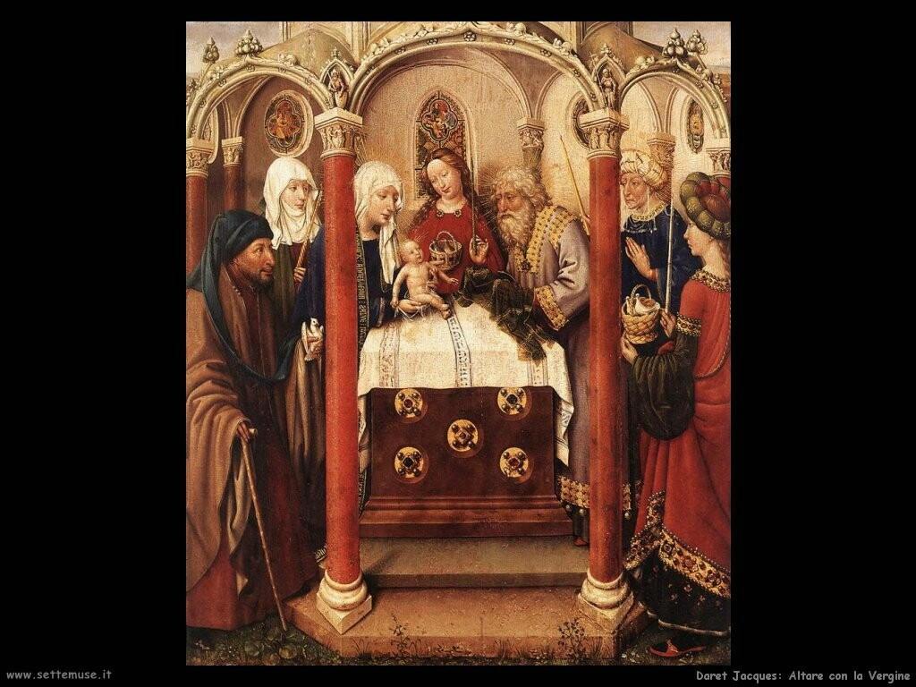 daret jacques Pala d'altare della Vergine