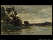 daubigny charles francois Sponda del fiume