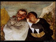 daumier honore  Crispin e Scapin