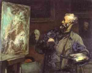 Autoritratto di Honorè Daumier