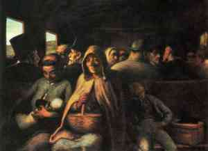 Dipinto di Honorè Daumier