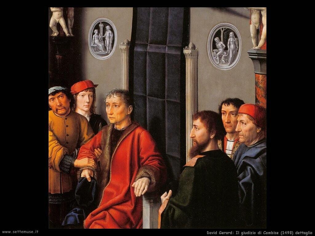 david gerard Il giudizio di Cambyses