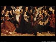 david gerard La Vergine tra le vergini