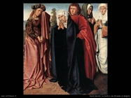 david gerard La santa donna e san Giovanni al Golgota