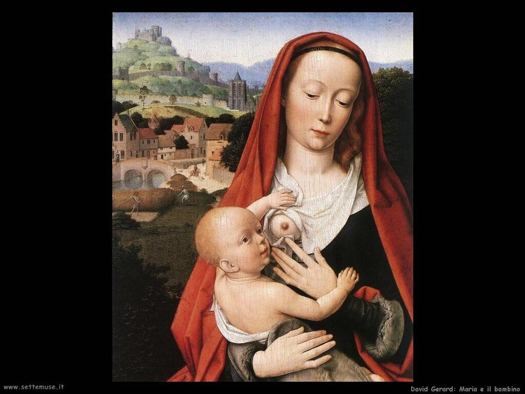 david gerard Maria e il bambino