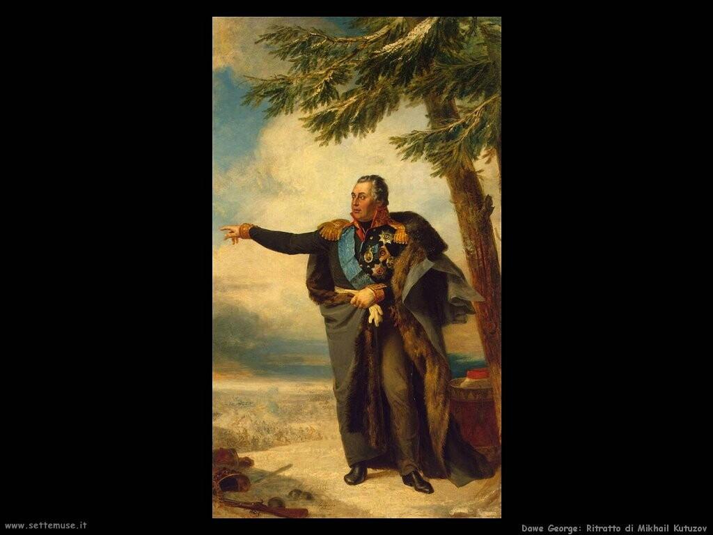 dawe george Mikhail Kutuzov