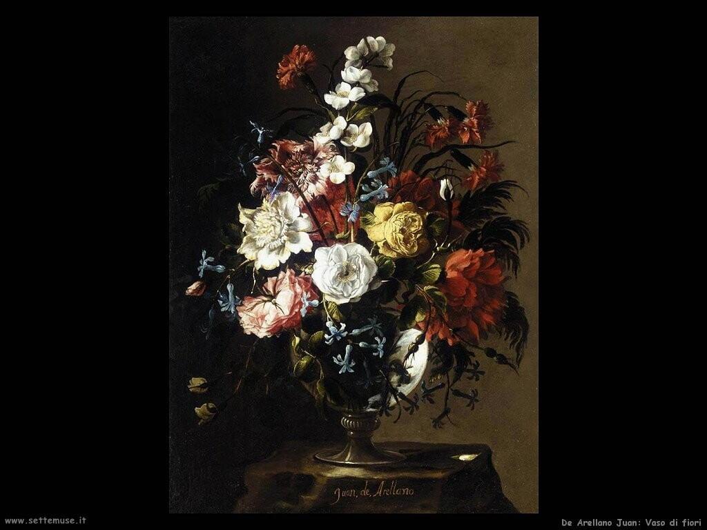 De arellano juan pittore biografia foto opere for Immagini di quadri con fiori