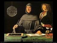 de barbari jacopo Fra Luca Pacioli e un giovane sconosciuto