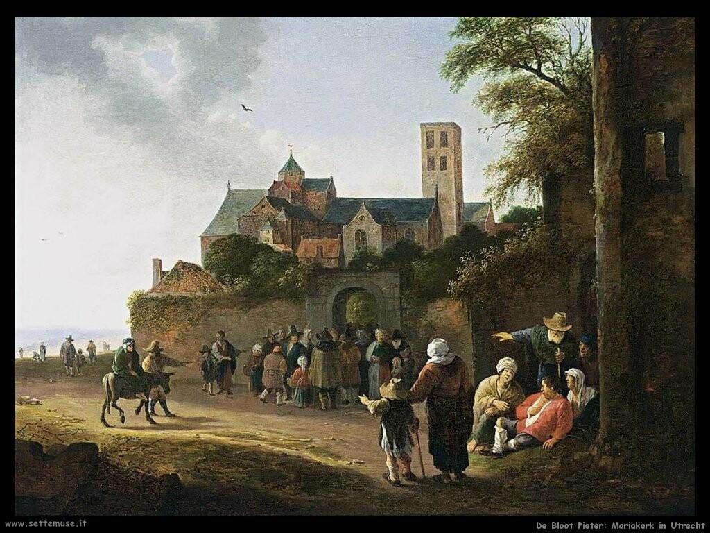 de bloot pieter La Mariakerk a Utrecht
