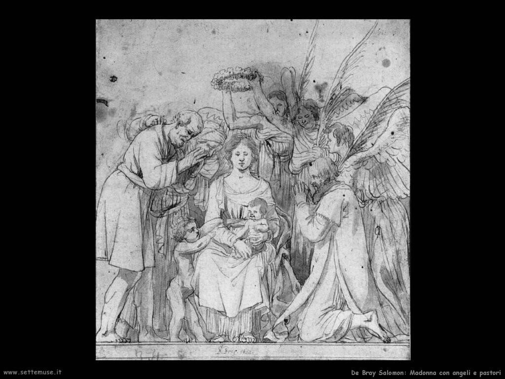 de bray salomon Madonna con angeli e pastori
