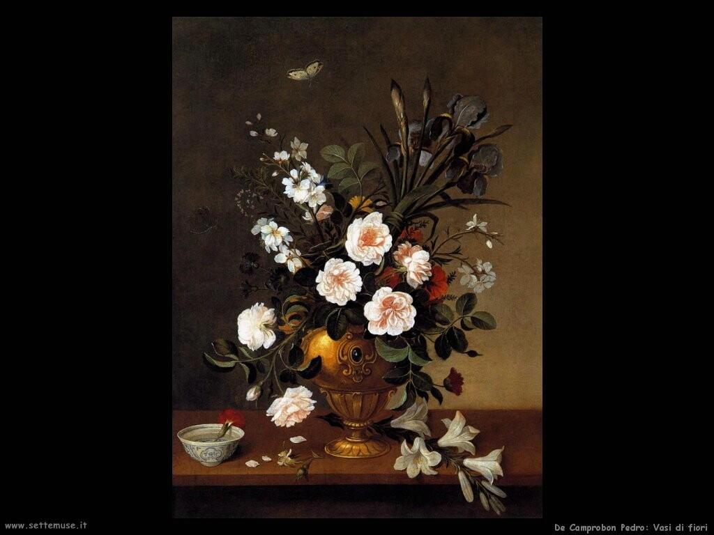 de camprobon pedro Vaso di fiori