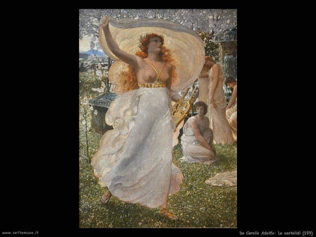 de_carolis_adolfo Le castalidi (1905)