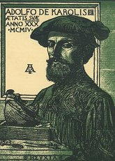 Autoritratto di Adolfo De Carolis