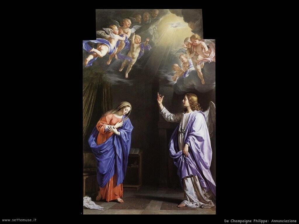 de champaigne philippe Annunciazione