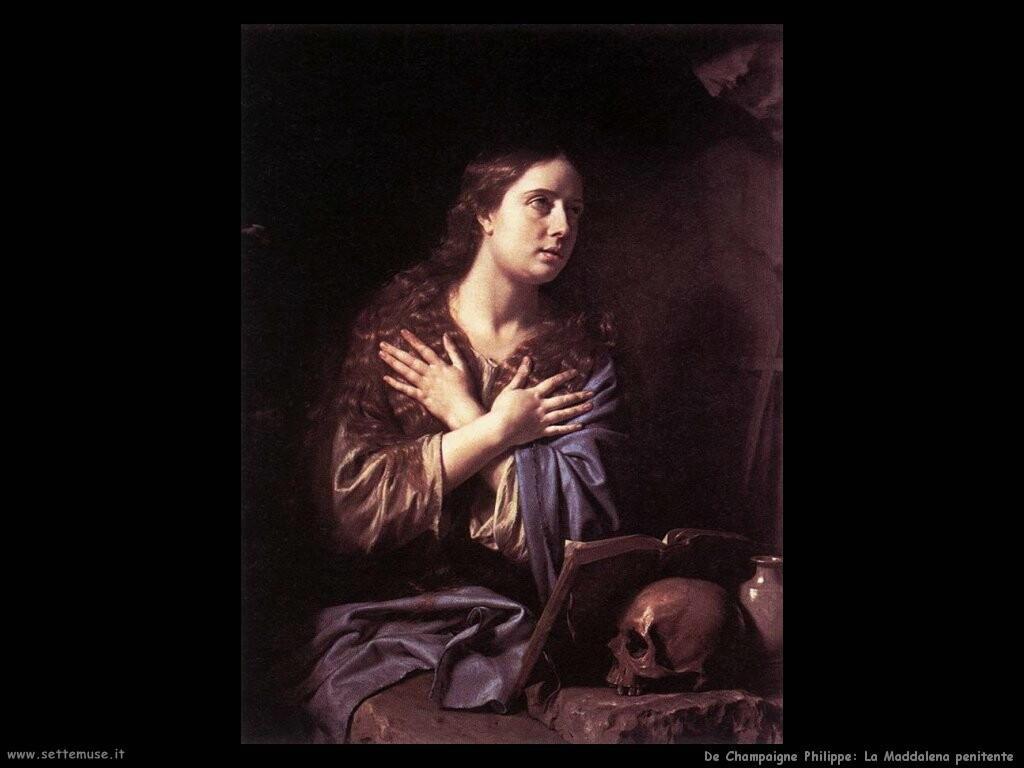 de champaigne philippe La Maddalena penitente