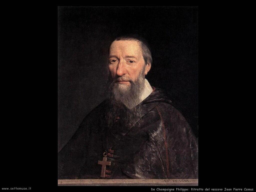 de champaigne philippe Ritratto del vescovo Jean Pierre Camus