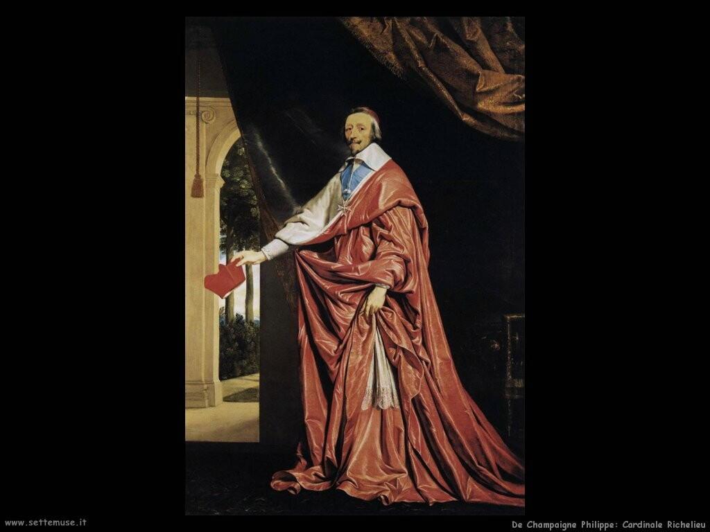 de champaigne philippe Cardinale Richelieu