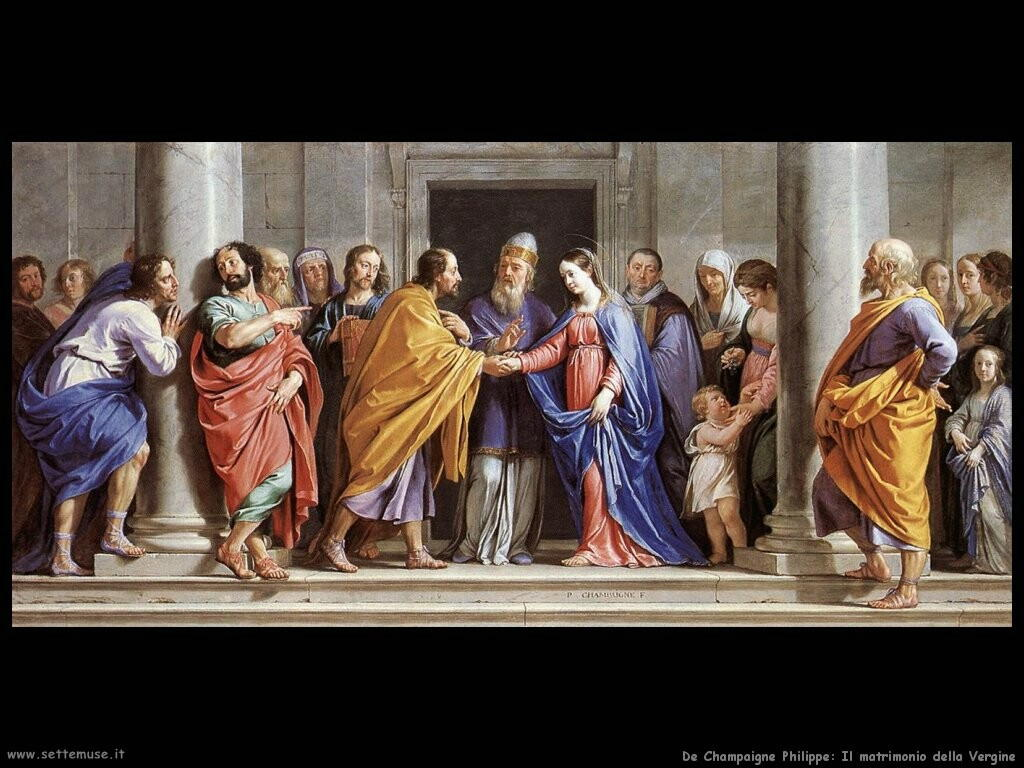 de champaigne philippe Il matrimonio della Vergine