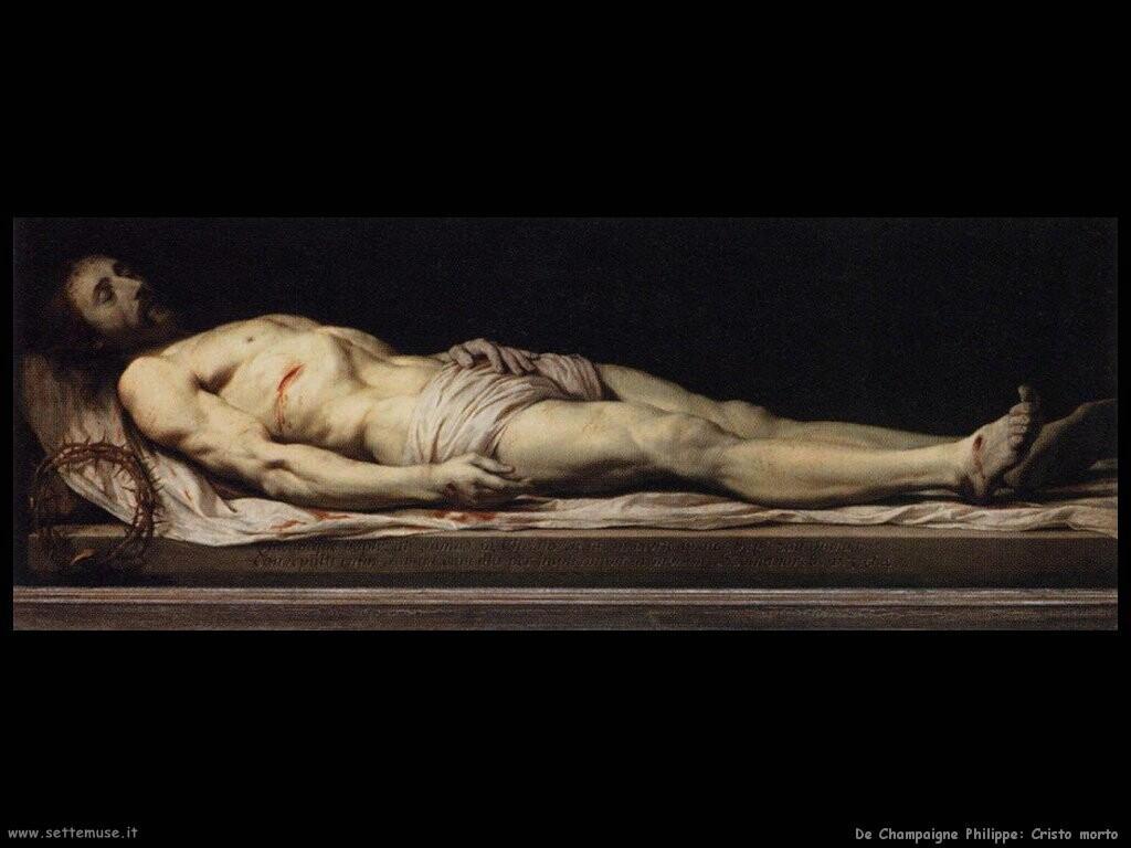 de champaigne philippe Il Cristo morto