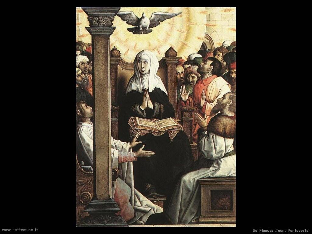 de flandes juan Pentecoste