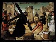 de flandes juan Portando la croce