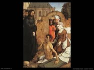 de flandes juan  Resurrezione di Lazzaro