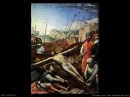 de flandes juan  Cristo inchiodato alla croce