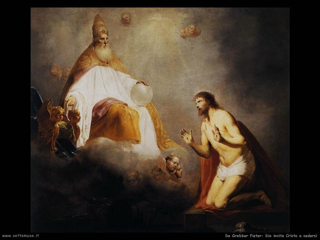 de grebber pieter Dio invita Cristo a sedersi