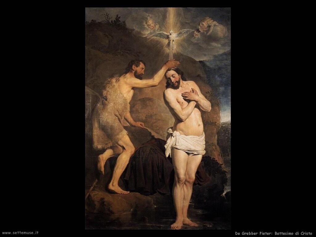 de grebber pieter Battesimo di Cristo